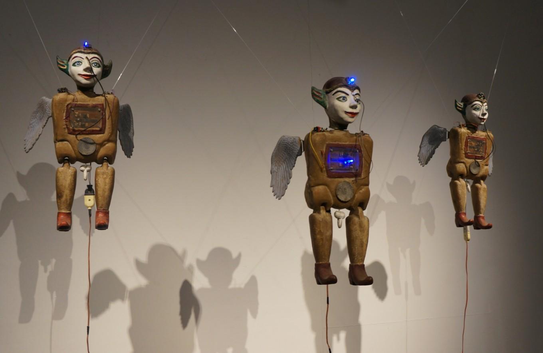 Engage the senses at media installation art exhibition