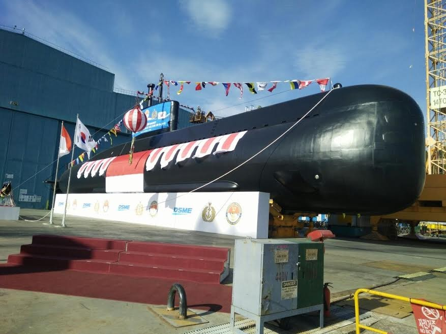 South Korea launches second Indonesian submarine