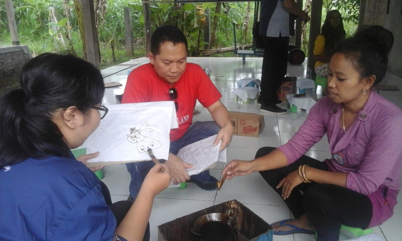 'Nyanting' tradition tourist magnet for Yogyakarta batik kampung