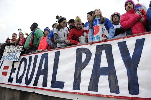 Report: Women won't earn as much as men for 170 years