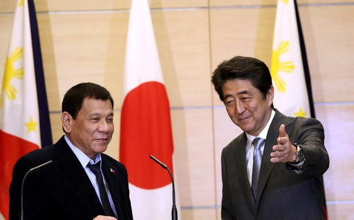 Japan, Philippines reaffirm rule of law in South China Sea