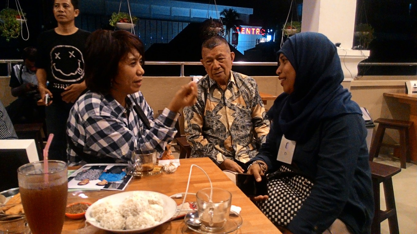 Munir's widow on road show in N. Sulawesi to seek support