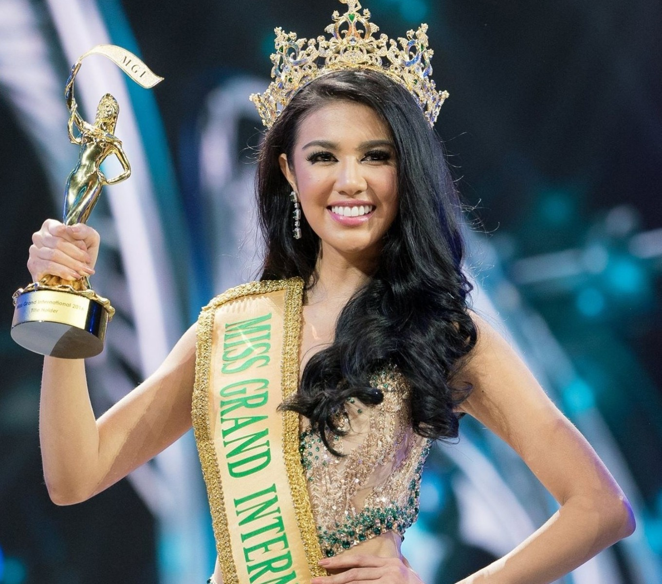 Indonesia brings home Miss Grand International 2016 title