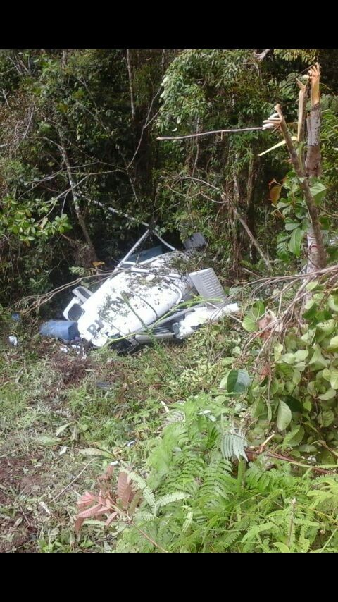 Helicopter carrying food crashed in Nduga, Papua