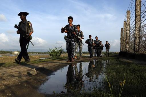Muslim insurgency being waged in Myanmar