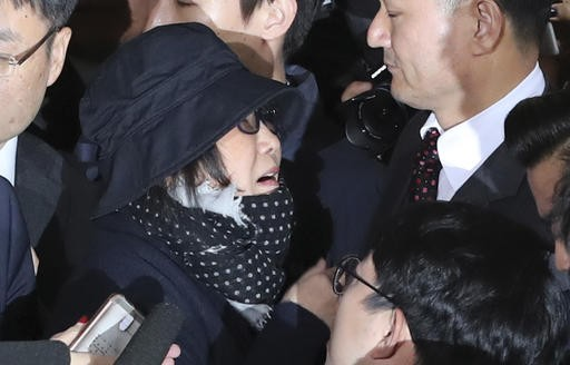 South Korean prosecutors seek arrest of friend of President Park
