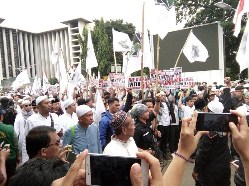 Muslim leaders reject violent rally