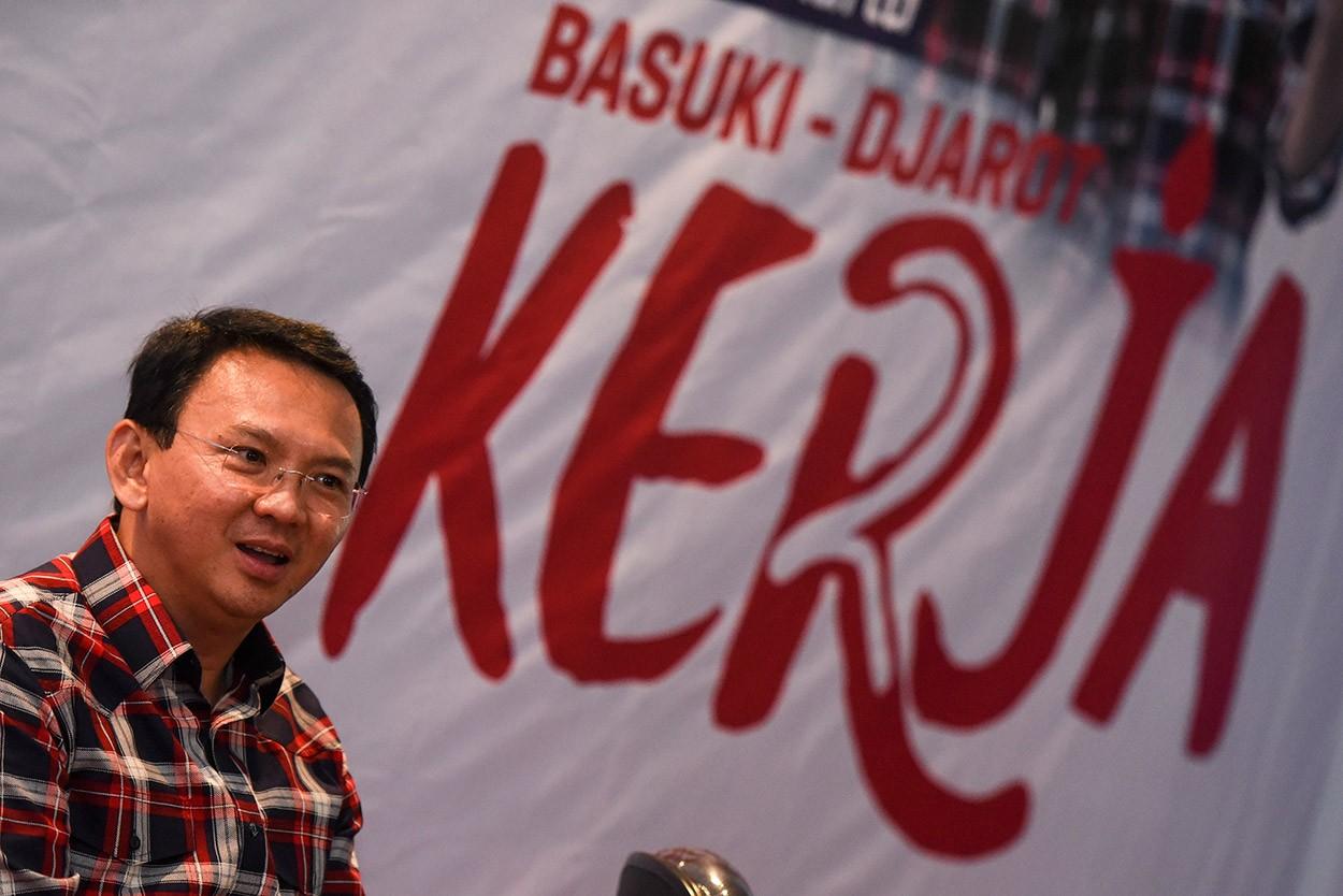 Soeharto's half brother supports Ahok: Campaign team