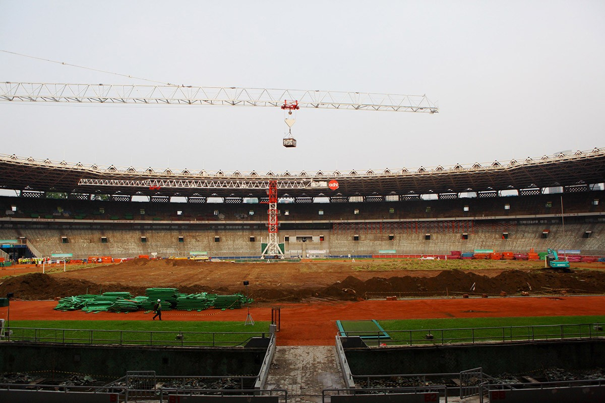 18th Asian Games organizers race against time, graft allegations