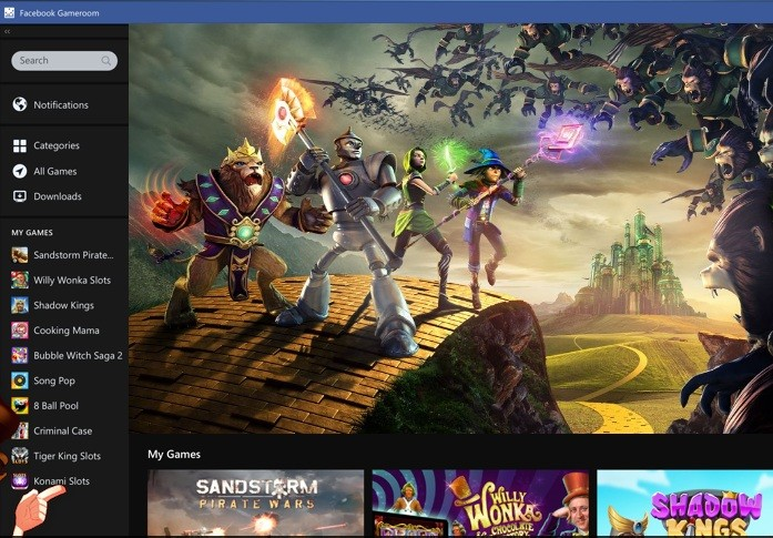 Facebook lures PC game enthusiasts with 'Gameroom'