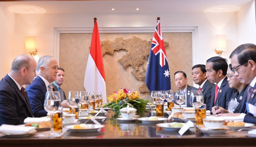 Jokowi's Oz visit to focus on economic, maritime cooperation