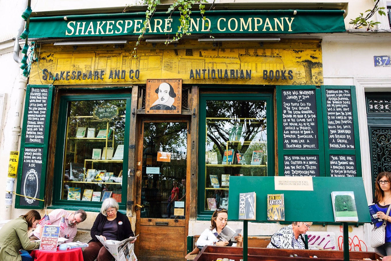 A day in the legendary Shakespeare and Company bookstore