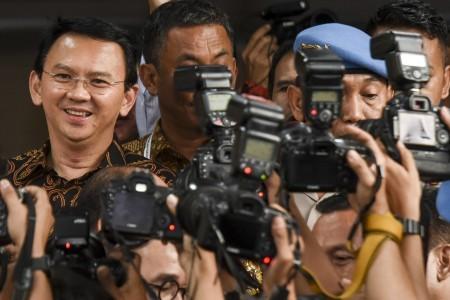 Ahok questioned for nine hours over blasphemy allegation