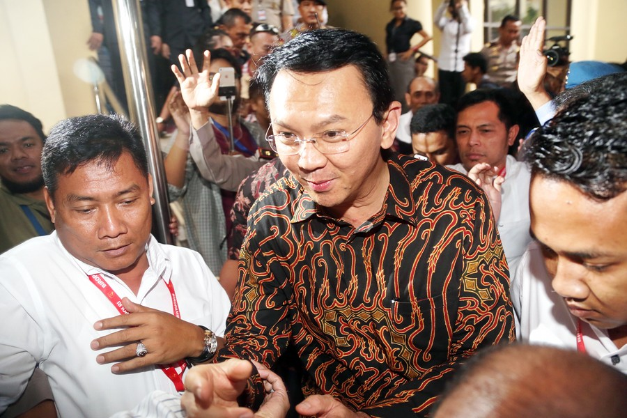 Police retract plan to televise case screening of Ahok blasphemy allegation