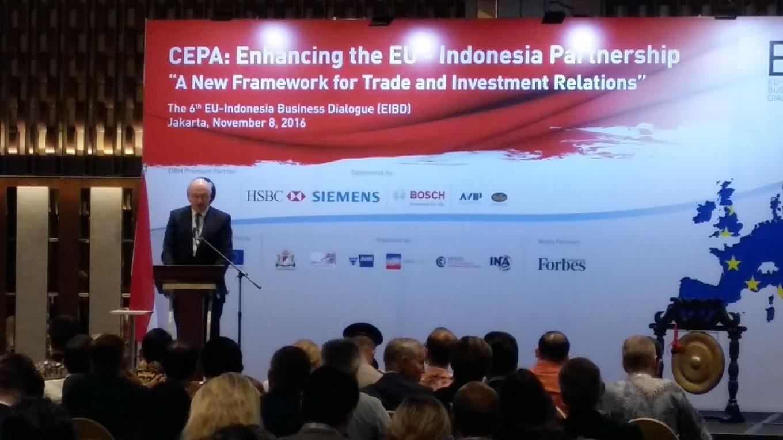 EU wants more access to Indonesian F&B market