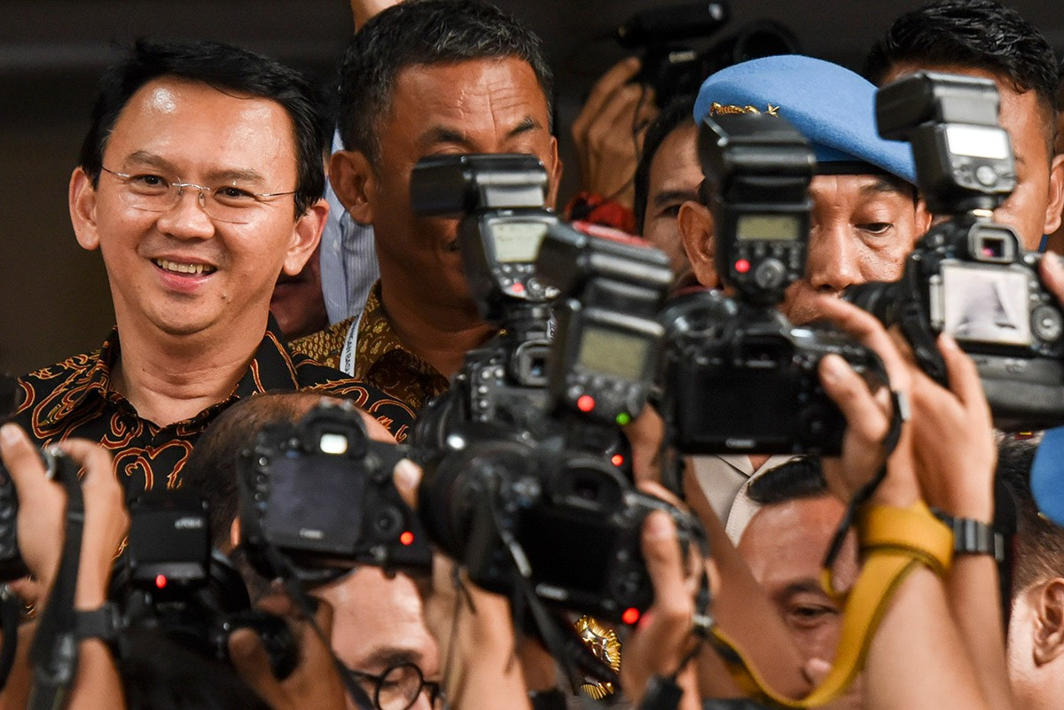 Ahok at risk of losing Jakarta election: Poll