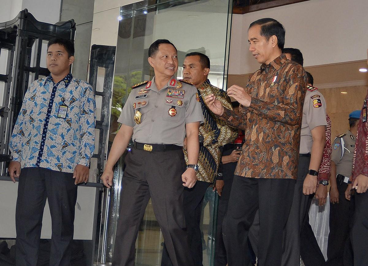 Police Admit To Stark Divisions Over Ahok Case National The