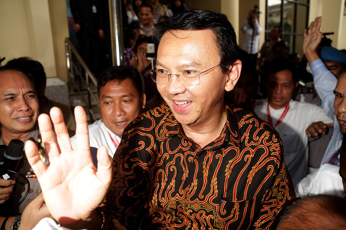 Ahok still eligible if named suspect: KPUD