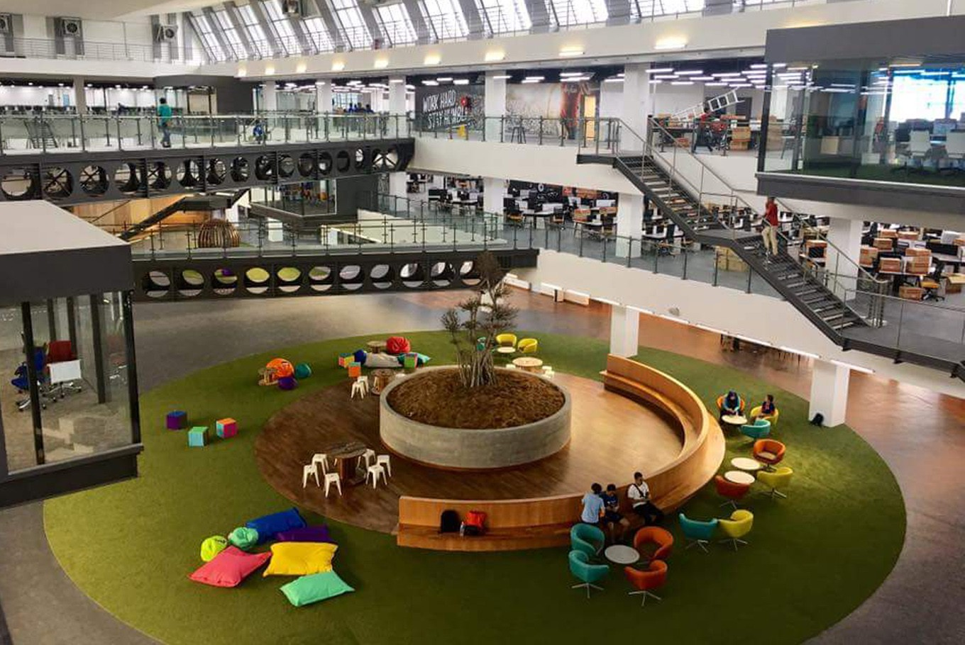 Airasia Moves Into New Open Space Headquarters News