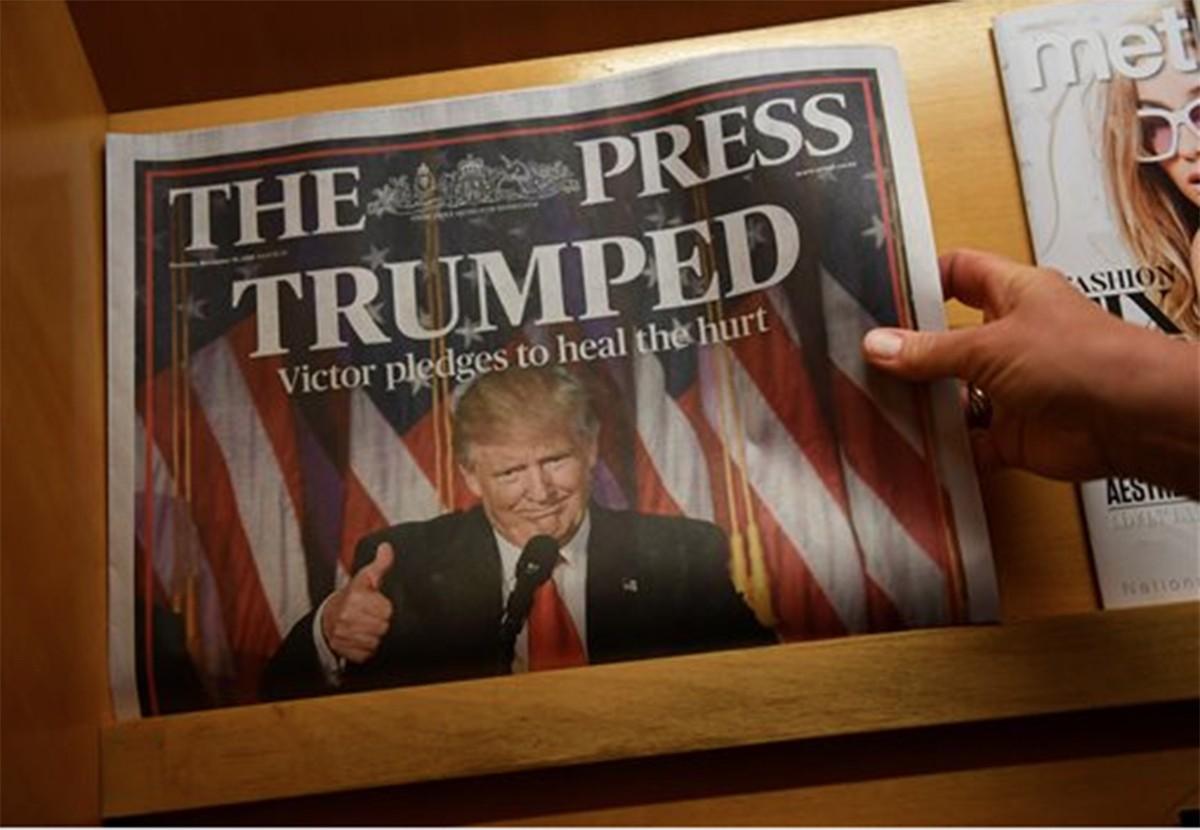 Congrats, Donald Trump