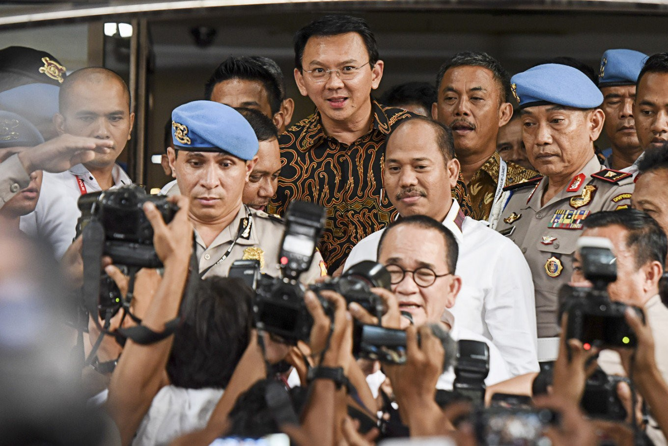 Police questions trio from S. Sulawesi in Ahok's blasphemy case
