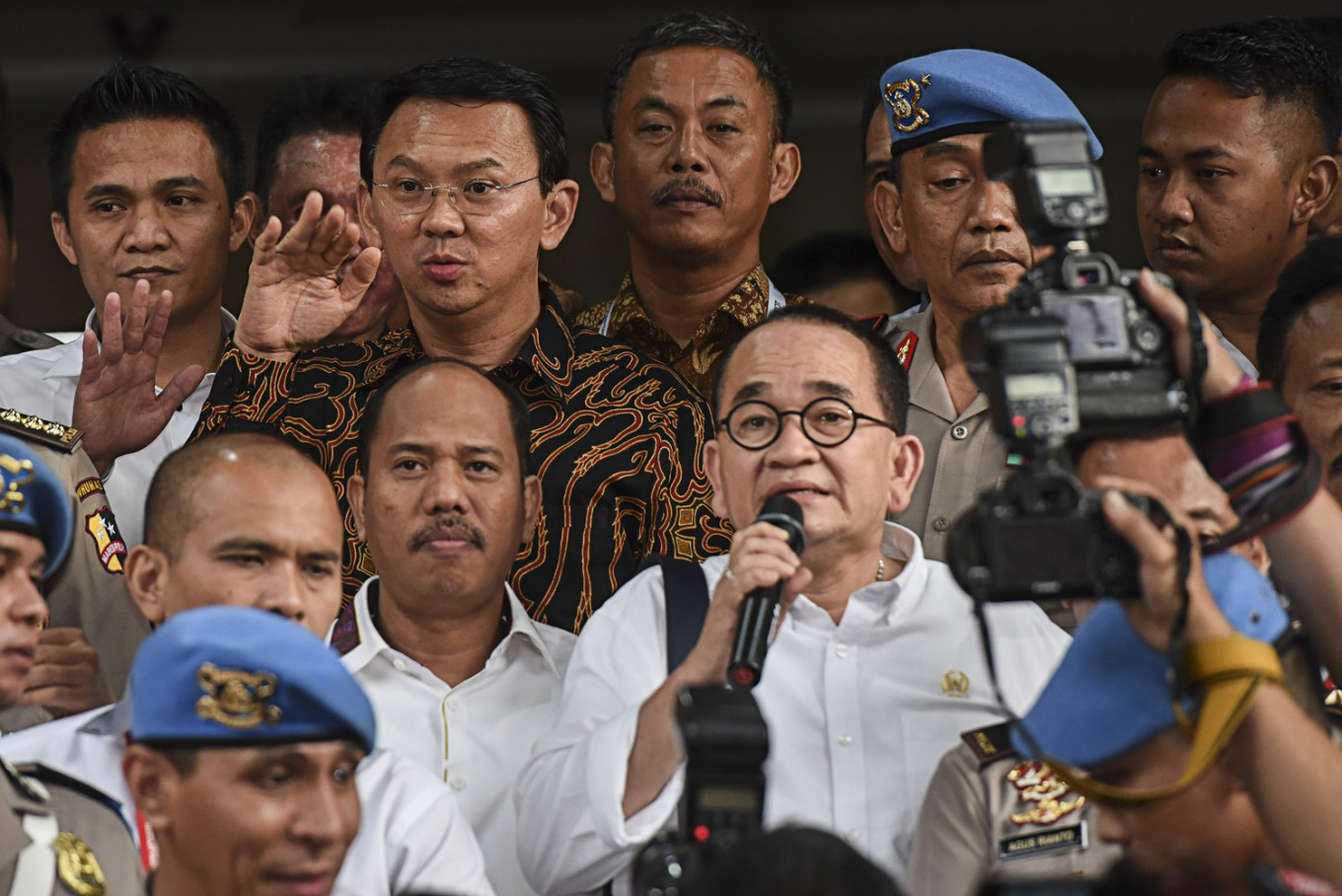 Police to hold public case screening over Ahok's blasphemy allegations Tuesday