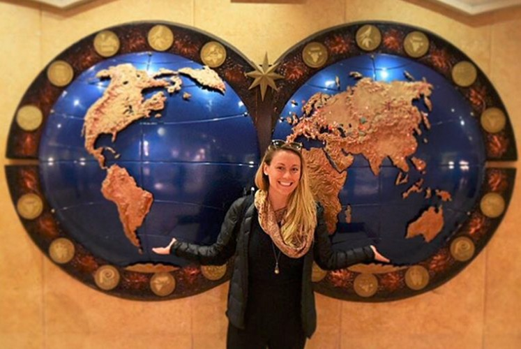 US woman becomes fastest person to visit every country