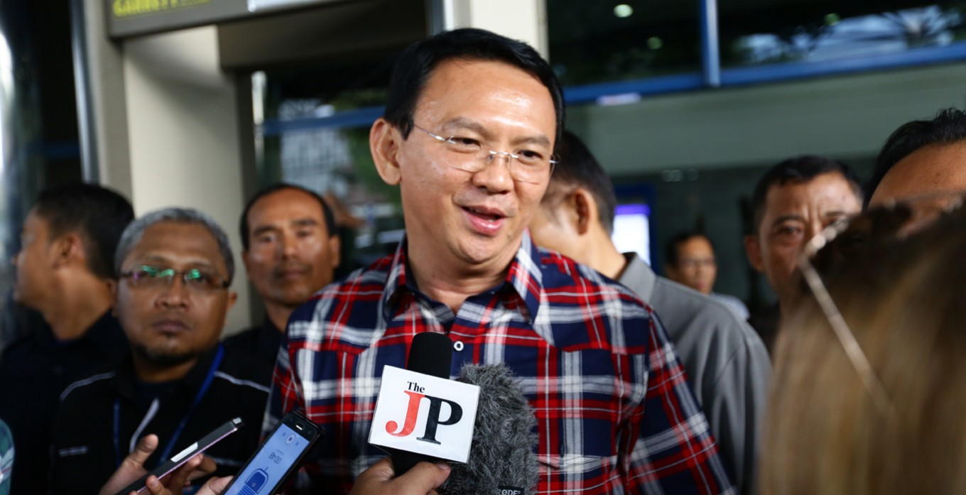 Ahok apologizes over alleged blasphemy