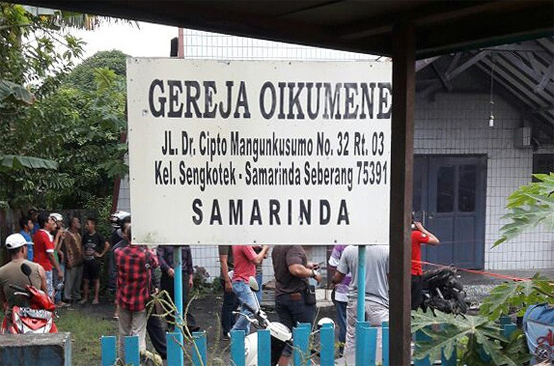 Kalimantan church bomber linked to IS movement