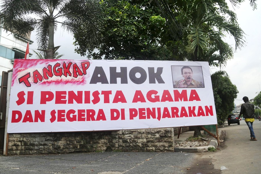266 hate banners found in Jakarta