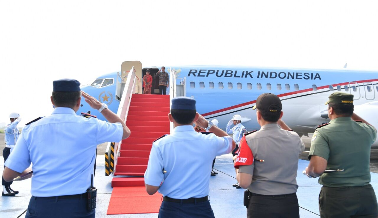 Jokowi, Singapore's Lee kick off one-day retreat to mark 50 years of bilateral ties