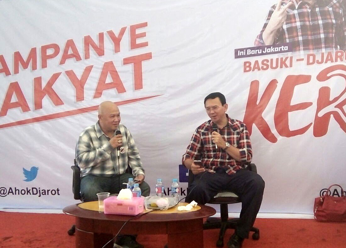 Ahok opens up post to hear complaints from residents