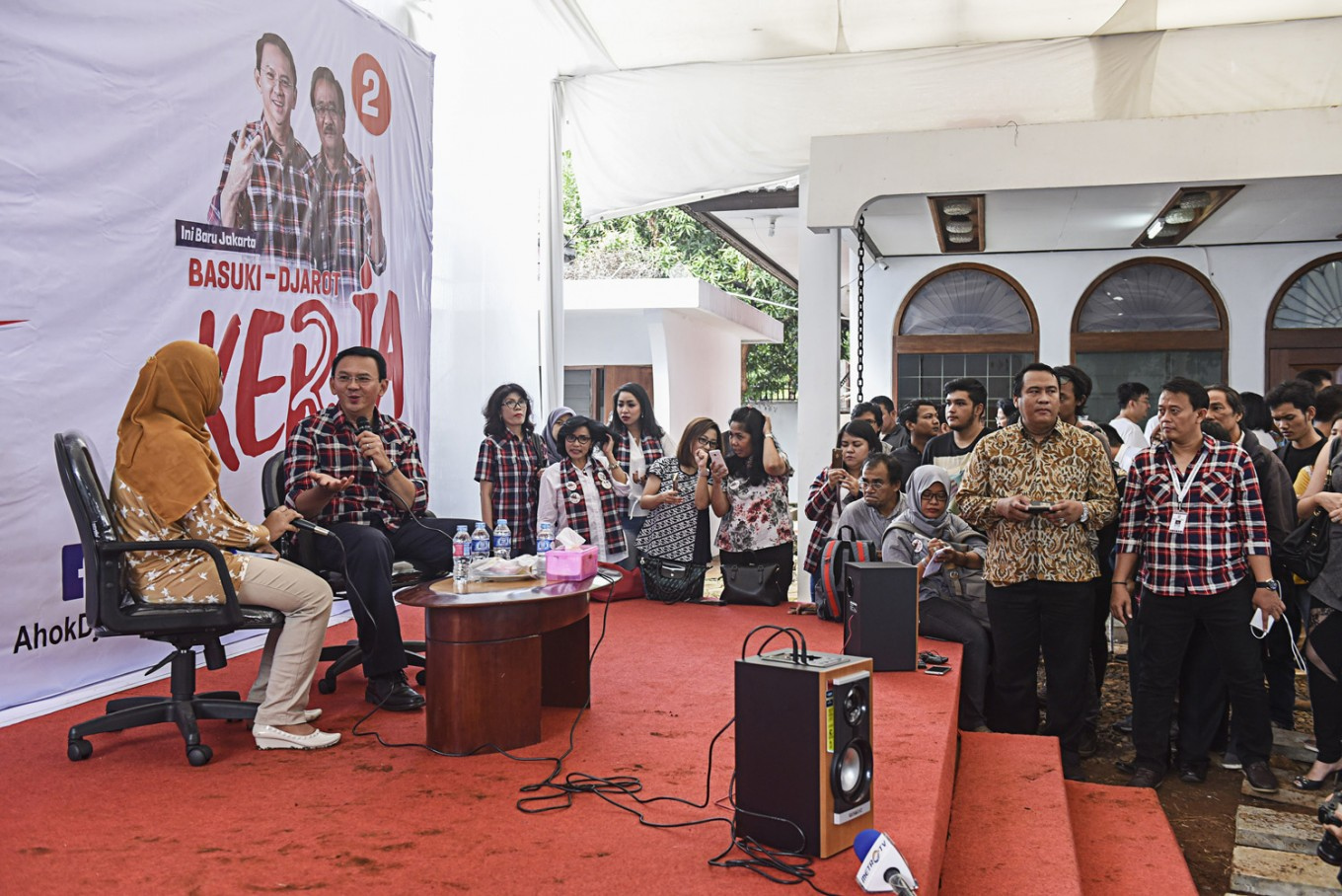 Ahok to continue 'blusukan' despite protests