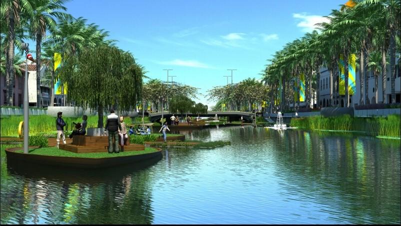 Kota Tua river to become Jakarta's Cheonggyecheon