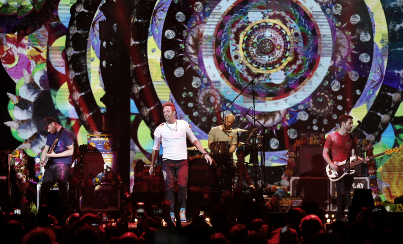 Coldplay adds Bangkok to their upcoming Asian tour