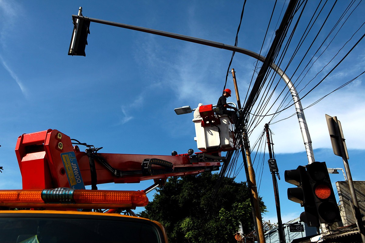 City to decorate street lamps in S. Jakarta with Betawi ornaments
