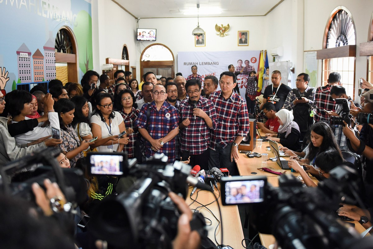 Not over yet, Ahok tells supporters