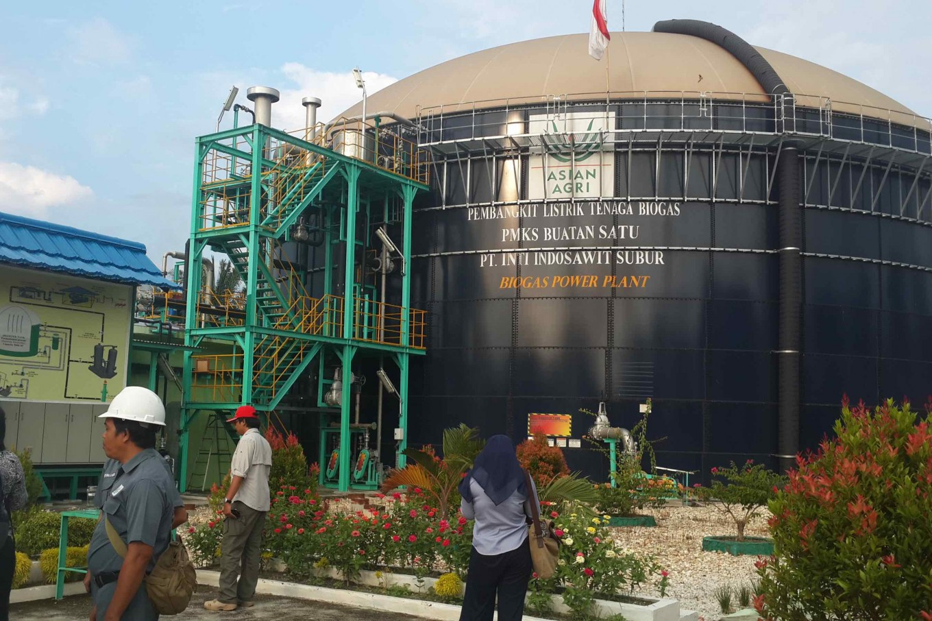 Asian Agri to optimize excess supply from biogas power plants