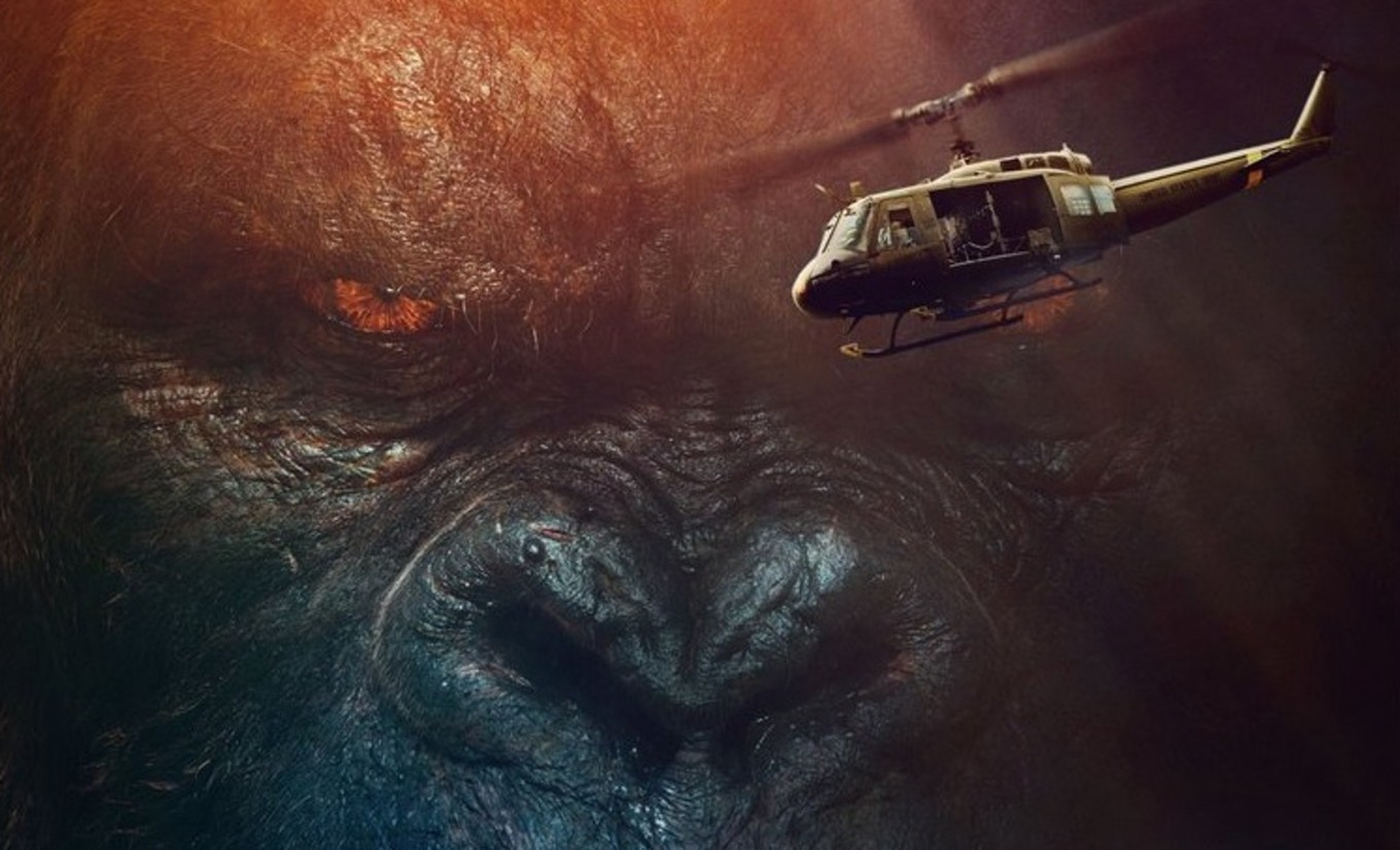 Watch king gorilla takes revenge in 'Kong: Skull Island'