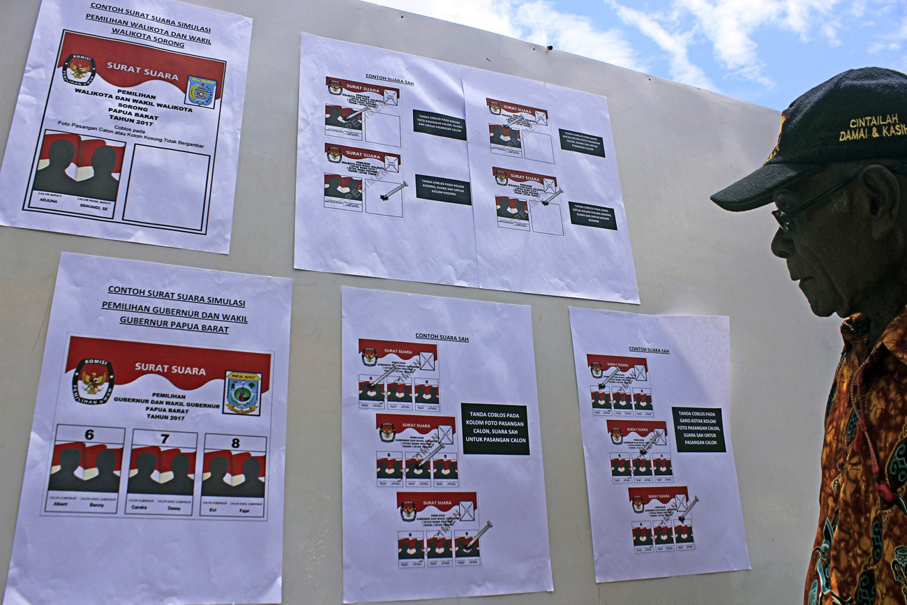 Five Elections Commission Members Dismissed In Papua National