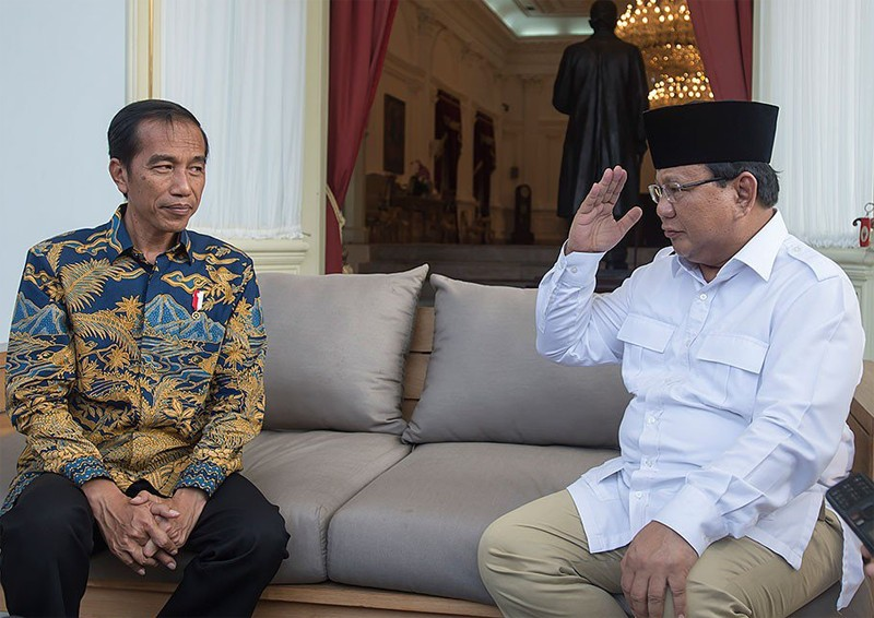 Jokowi once offered Prabowo VP seat: Gerindra