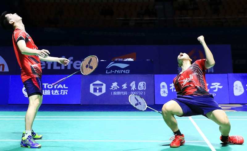 Indonesia dominates China Open with two victories