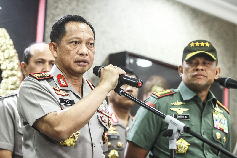 Cops talk tough on Dec. 2 rally