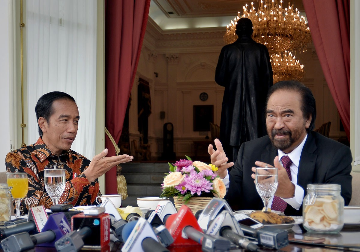Surya Paloh to meet with Prabowo on Sunday night