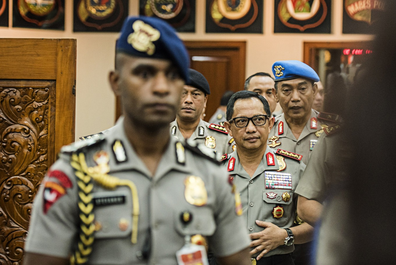 House divided in response to police warning about overthrow of Jokowi