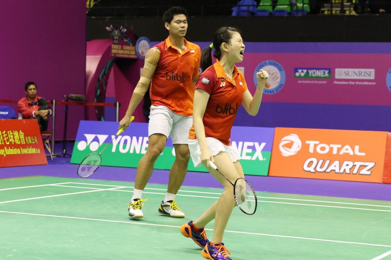 Mixed doubles pair Jordan Debby advance at Hong Kong Open