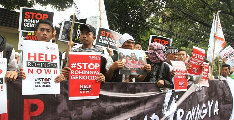 Rally calls for revocation of Aung San Suu Kyi's Nobel Peace Prize