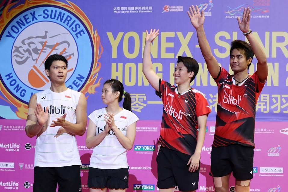 Tontowi/Liliyana win Hong Kong Open, 2nd title in two weeks