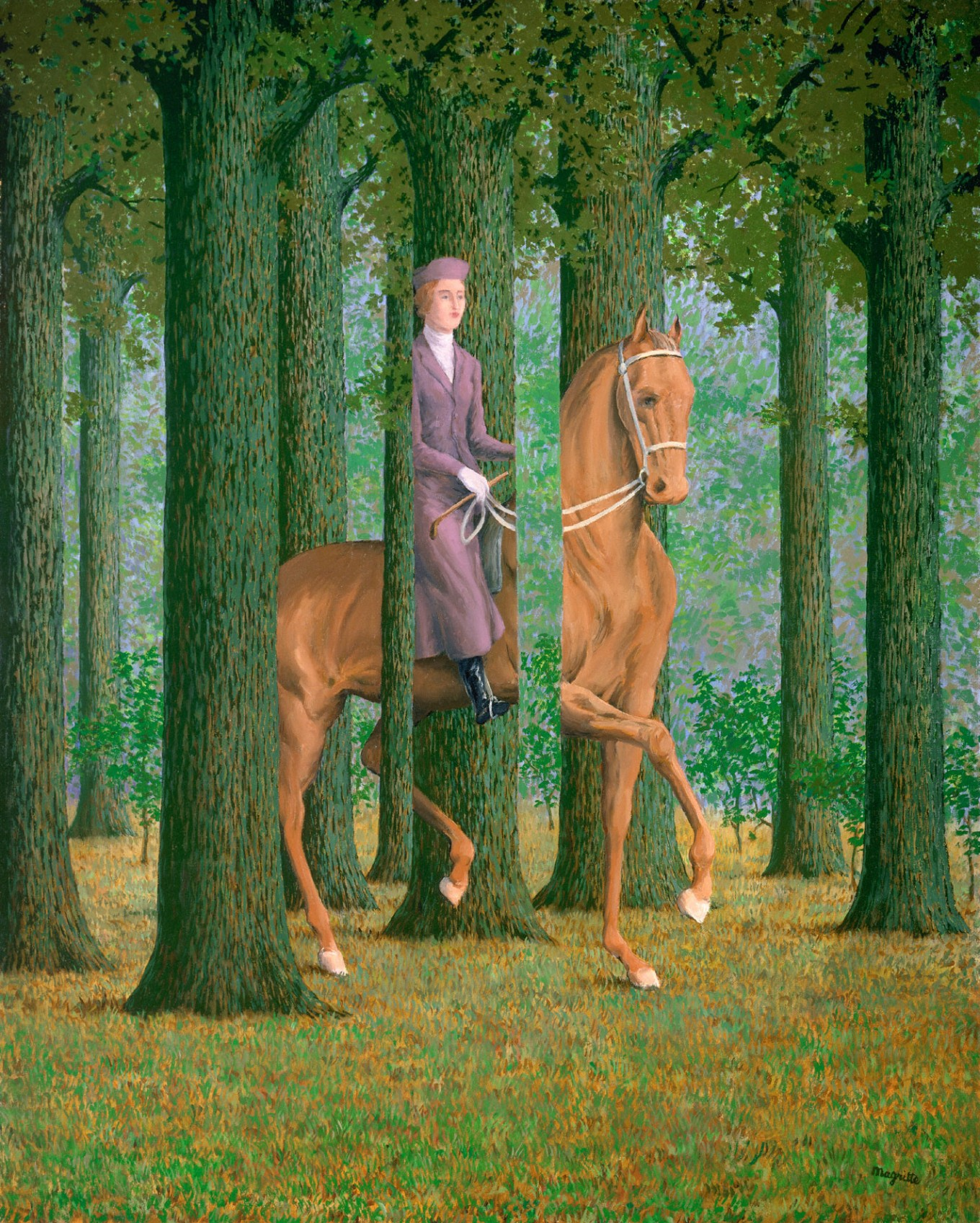Marveling at Magritte's 'Treacherous Images' in Paris exhibition