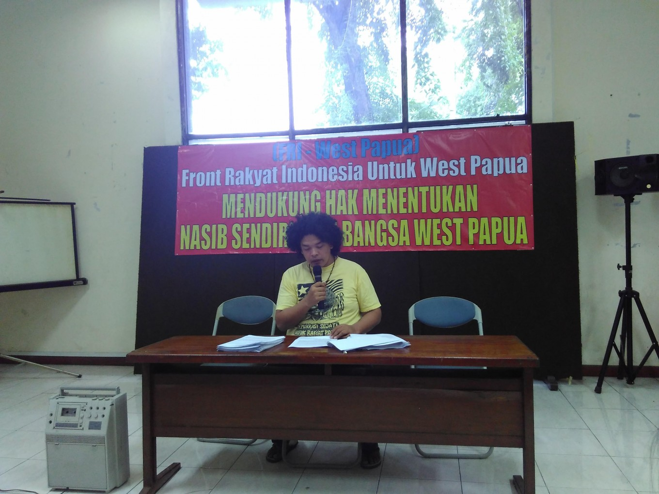 Group supports referendum for West Papua